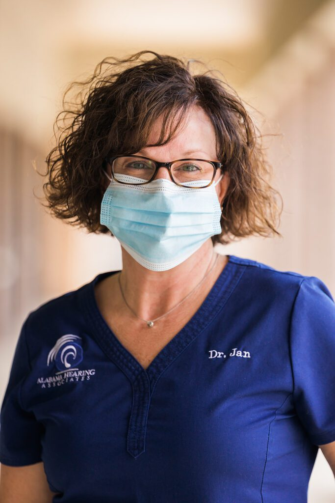 Dr. Jan Liles, vaccinated and ready to see you